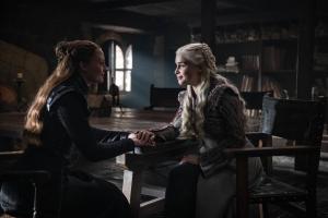 Sansa Stark e Daenerys Targaryen Game of Thrones
