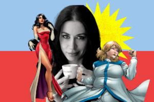 Mulheres nos Quadrinhos Maria Laura Sanapo